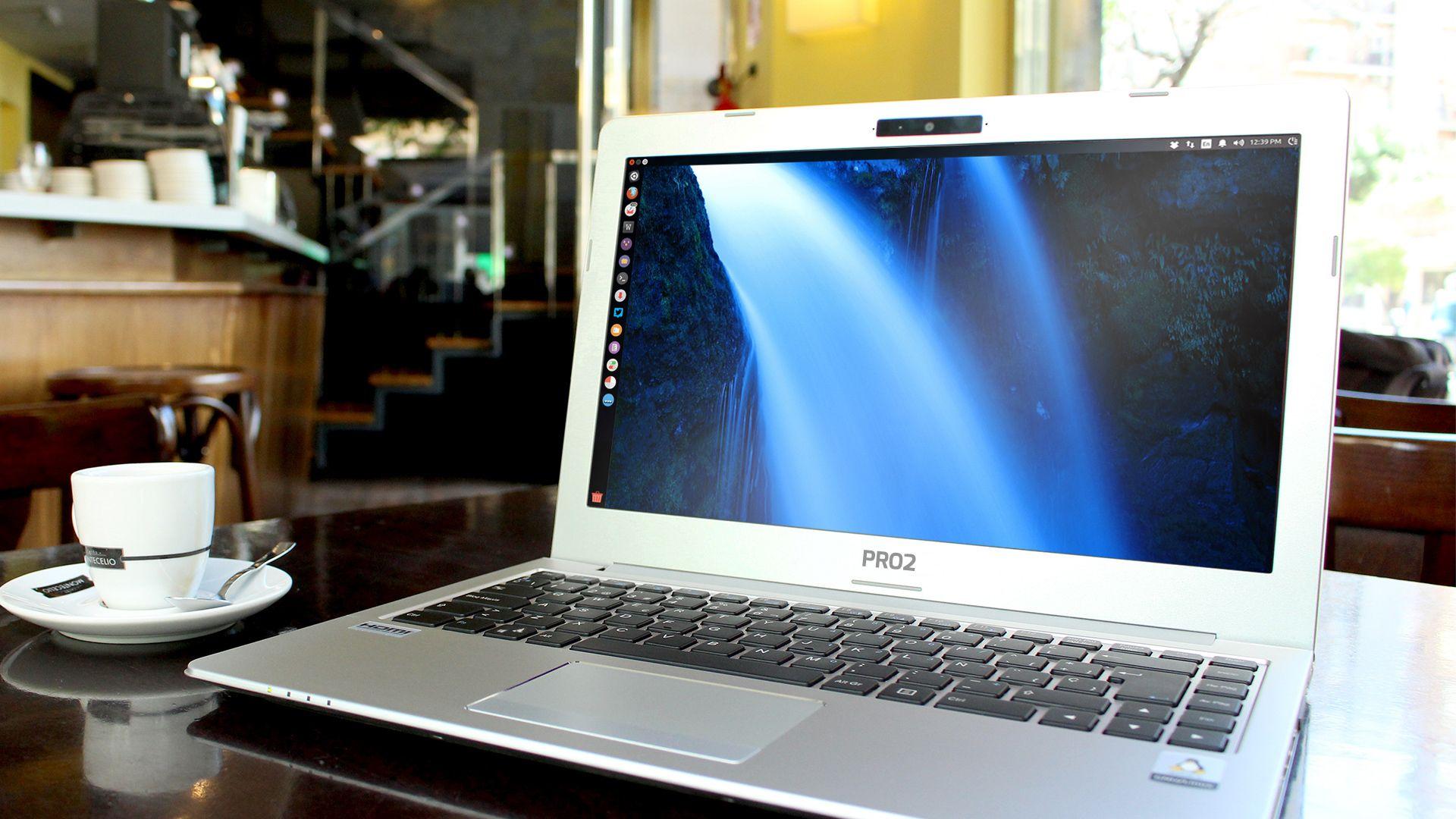 Imagen de un portatil Slimbook Pro
